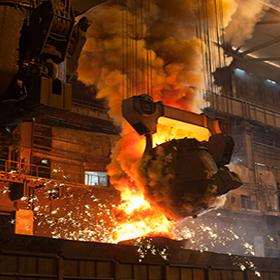 钢铁行业的抑尘